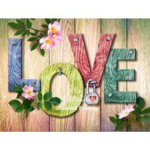 Gyémántkirakó készlet - Love