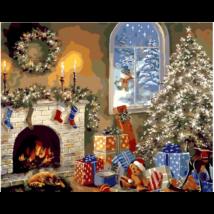 Számfestő - Karácsony reggel