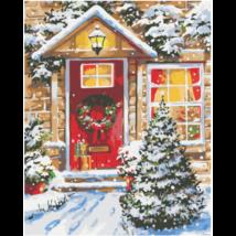 Számfestő - Karácsonyi otthon