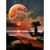 Gyémántkirakó készlet - Moon - Nyár