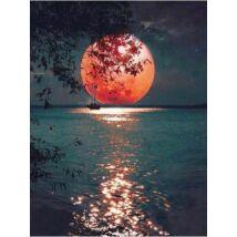 Számfestő - Hold