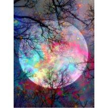 Gyémántkirakó készlet - Moon - Tavasz