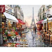 Gyémántkirakó készlet - Párizs - Eiffel torony