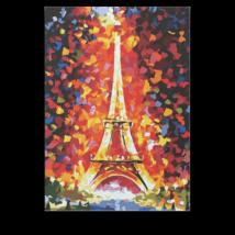 Számfestő - Eiffel torony ősszel