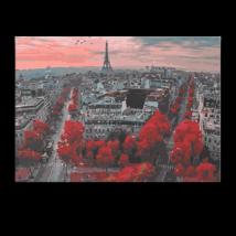 Számfestő - Párizs vörösben