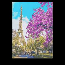 Számfestő - Virágzó Párizs