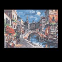 Számfestő - Velence teliholdkor