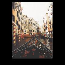 Számfestő - Velencei csónakázás
