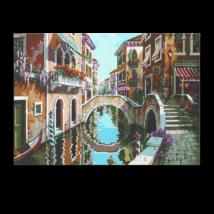 Számfestő - Velencei hidak