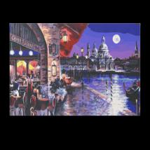 Számfestő - Esti élet Velencében