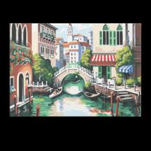 Számfestő - Híd Velencében