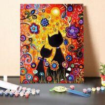 Számfestő - Macskák árnyéka