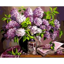Számfestő - Orgona virág