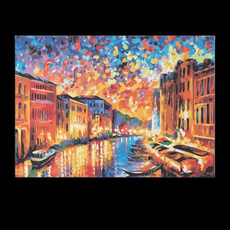 Számfestő - Velencei napnyugta