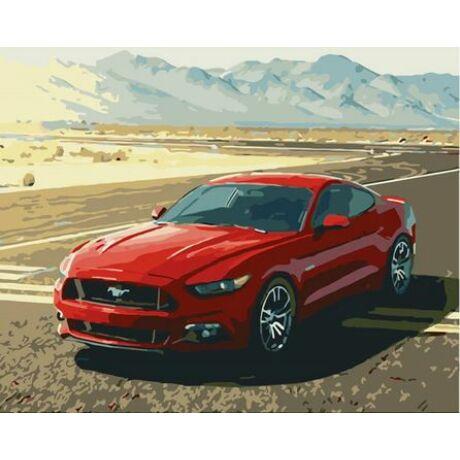Számfestő - Ford Mustang